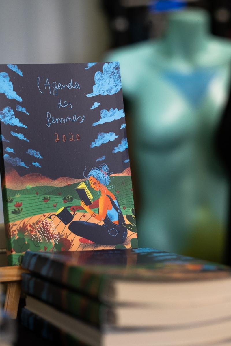 Cover for Agenda des femmes 2020, Éditions du Remue-ménage
