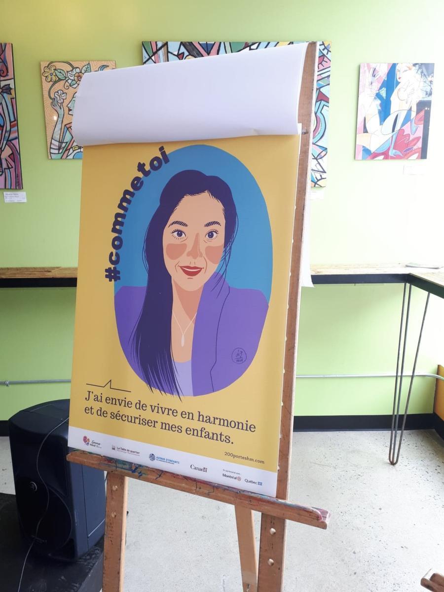 Campaign #commetoi, Table de quartier Hochelaga-Maisonneuve
