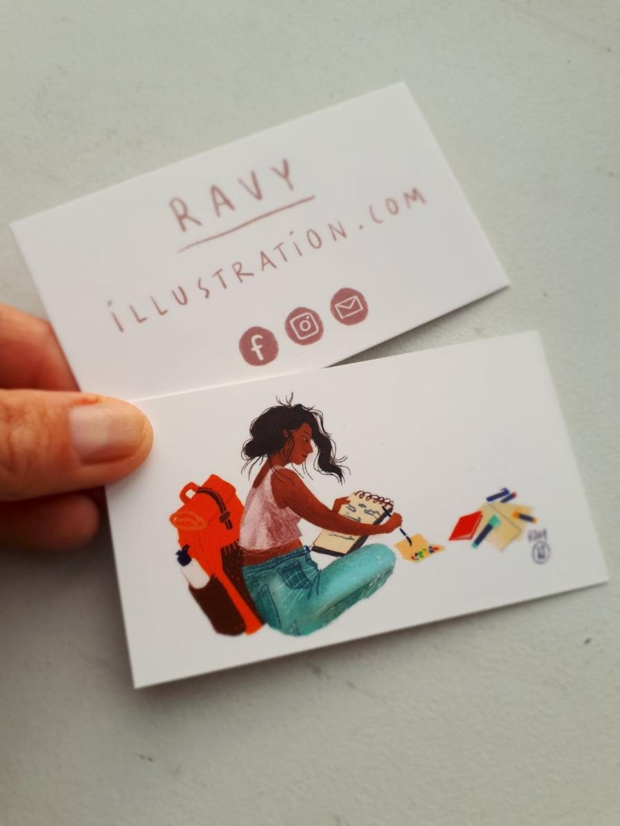 Business cards for children's book publishers