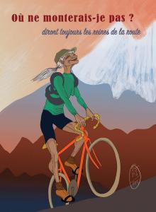 Poster Reine de la route